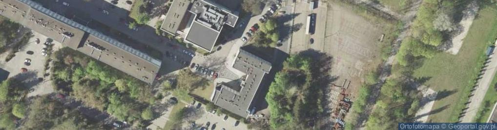 Zdjęcie satelitarne Projektowa ul.