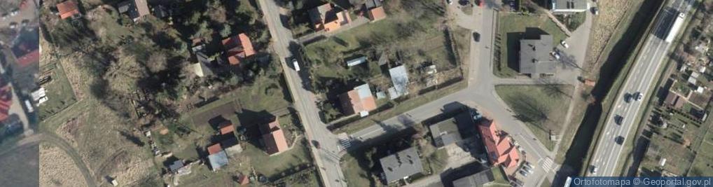 Zdjęcie satelitarne Przecław ul.