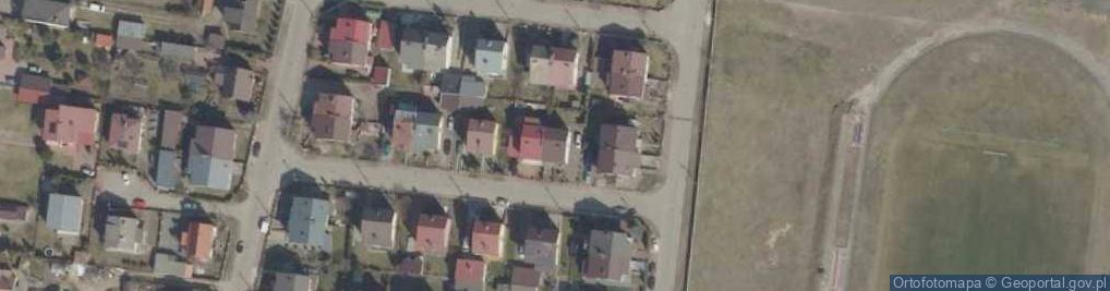 Zdjęcie satelitarne Prosta 9