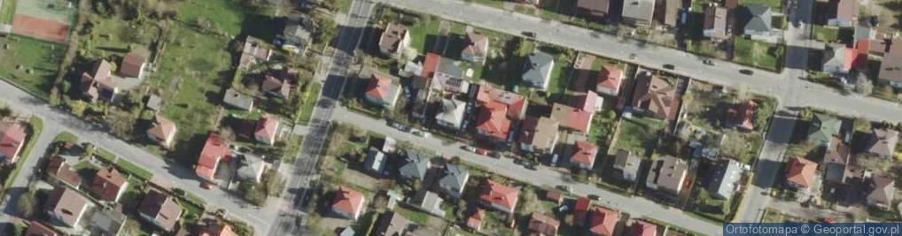Zdjęcie satelitarne Pszczela ul.