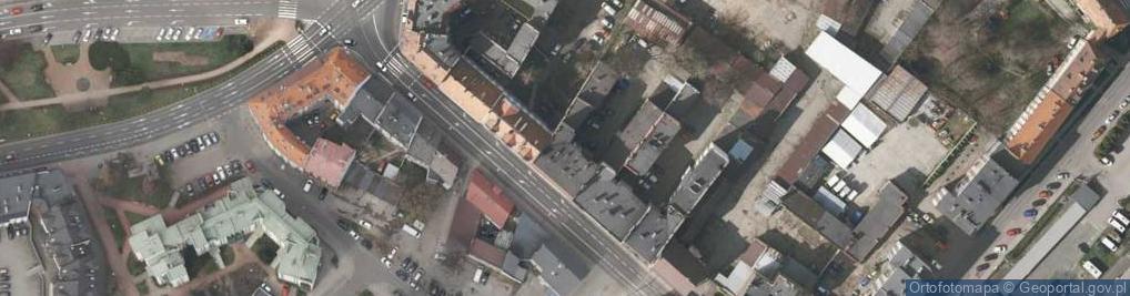 Zdjęcie satelitarne Pszczyńska 7
