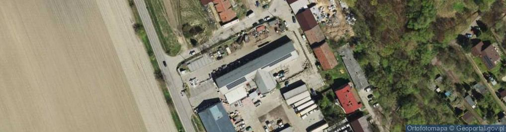 Zdjęcie satelitarne Ptakowicka ul.