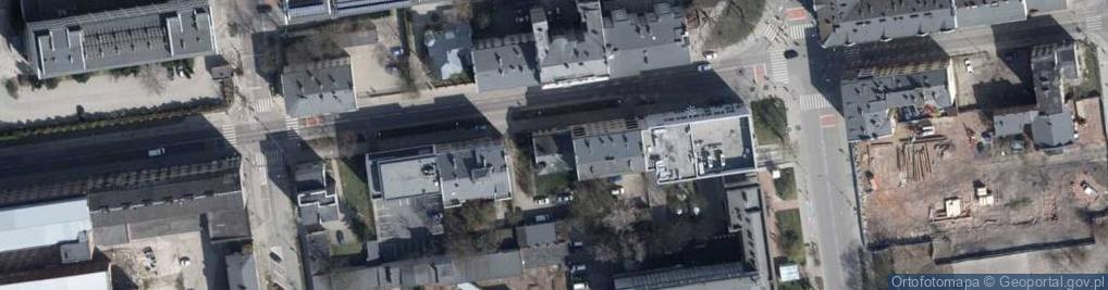 Zdjęcie satelitarne Radwańska 24