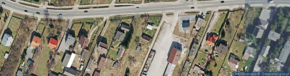 Zdjęcie satelitarne Radlin ul.