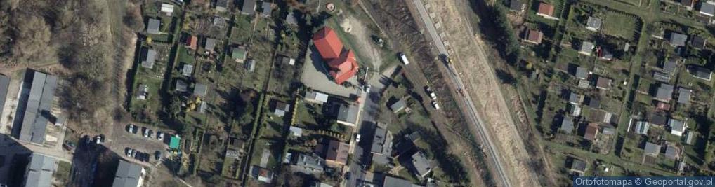 Zdjęcie satelitarne Republikańska ul.