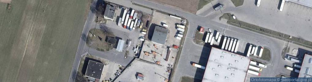 Zdjęcie satelitarne Rokicińska ul.