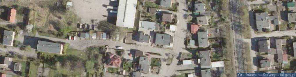 Zdjęcie satelitarne Różana 55