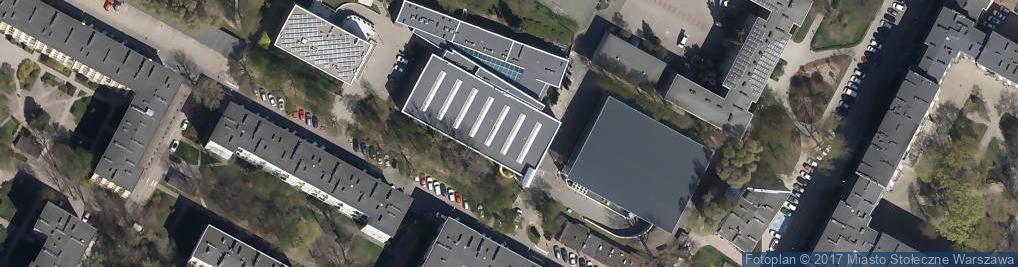 Zdjęcie satelitarne Rokosowska 10