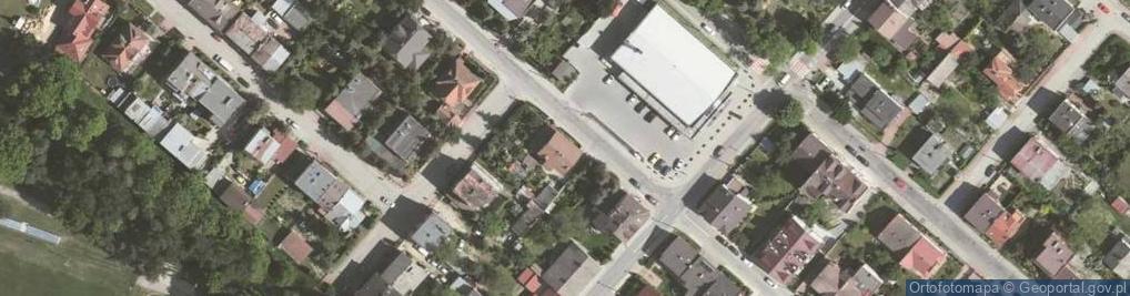 Zdjęcie satelitarne Rynek Fałęcki ul.