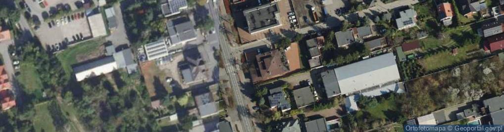 Zdjęcie satelitarne Rynkowa 7