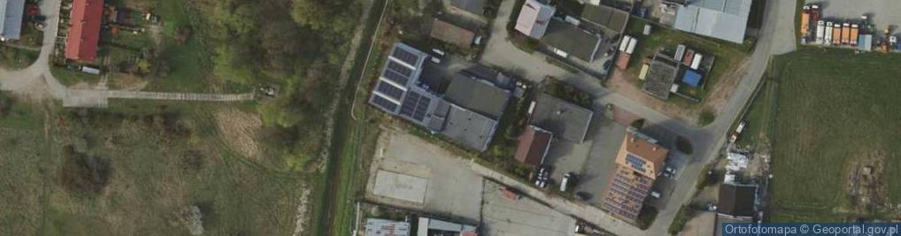 Zdjęcie satelitarne Rzemieślnicza 12