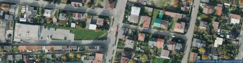 Zdjęcie satelitarne Sabinowska 121
