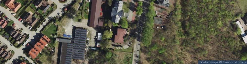 Zdjęcie satelitarne Siemońska ul.