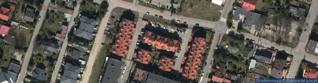 Zdjęcie satelitarne Skłodowskiej-Curie Marii 49