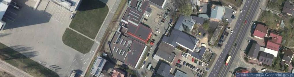 Zdjęcie satelitarne Słoneczna 2B