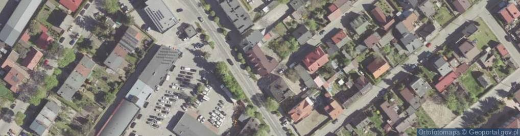 Zdjęcie satelitarne Słowackiego Juliusza 109