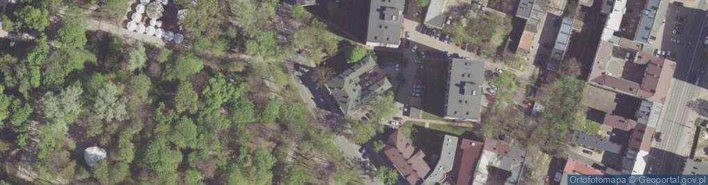 Zdjęcie satelitarne Słowackiego Juliusza 7