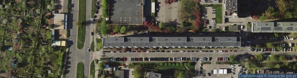 Zdjęcie satelitarne Śliczna 8