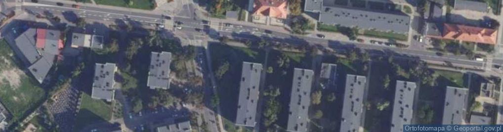 Zdjęcie satelitarne Słowackiego Juliusza 20a