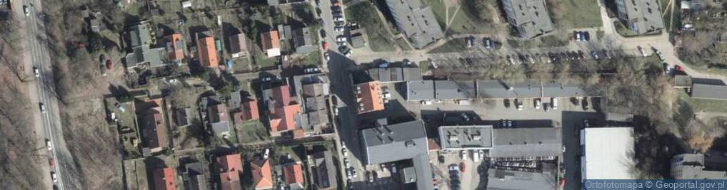 Zdjęcie satelitarne Sosnowa 6e