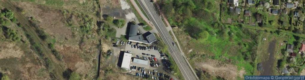 Zdjęcie satelitarne Strzelców Bytomskich 59