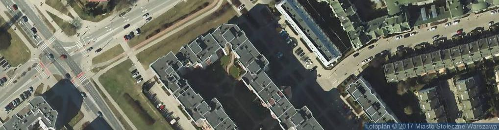 Zdjęcie satelitarne Stryjeńskich 10