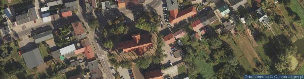 Zdjęcie satelitarne św. Józefa 1