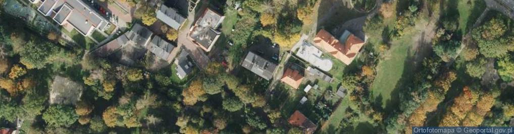 Zdjęcie satelitarne św. Wawrzyńca ul.