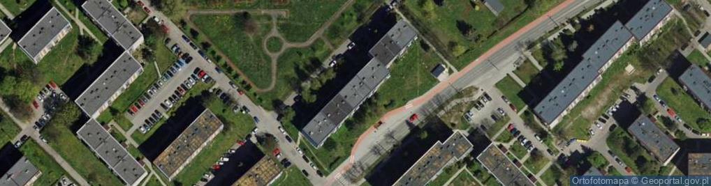 Zdjęcie satelitarne Szymały 134