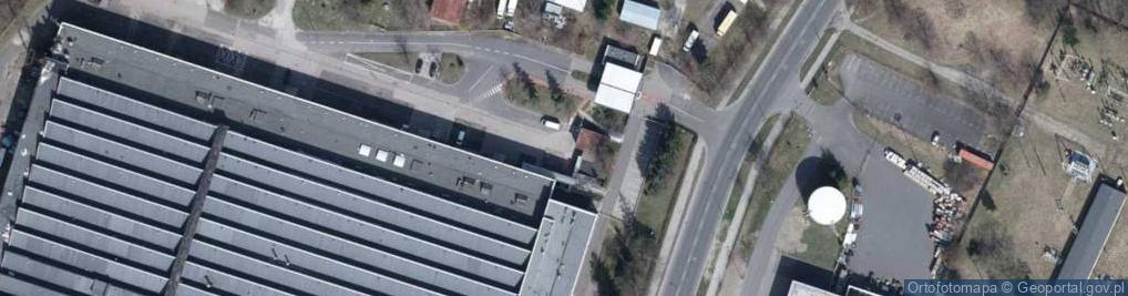 Zdjęcie satelitarne Szparagowa ul.