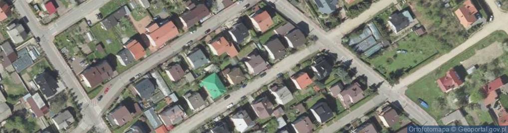 Zdjęcie satelitarne Szymanowskiego Karola 6