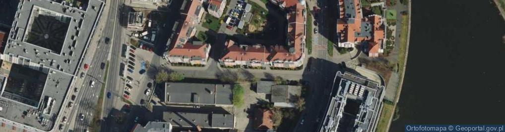 Zdjęcie satelitarne Szyperska ul.