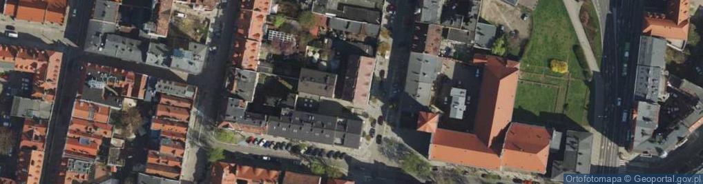 Zdjęcie satelitarne Szewska 5/6