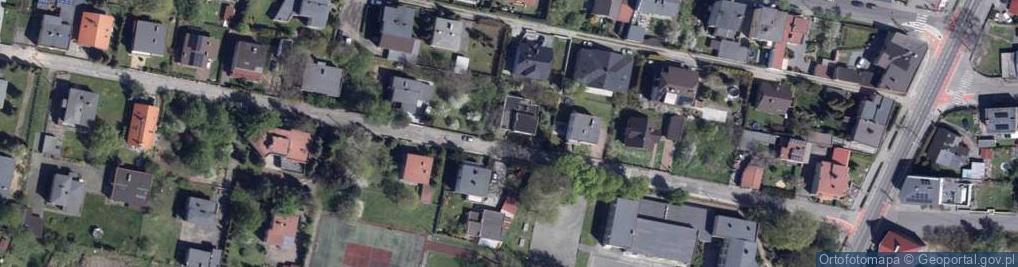 Zdjęcie satelitarne Szkolna 25