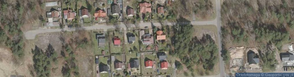 Zdjęcie satelitarne Szperaczy ul.