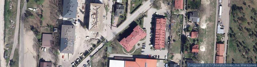 Zdjęcie satelitarne Szklarniowa ul.