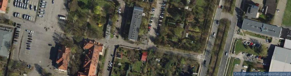 Zdjęcie satelitarne Taborowa 22