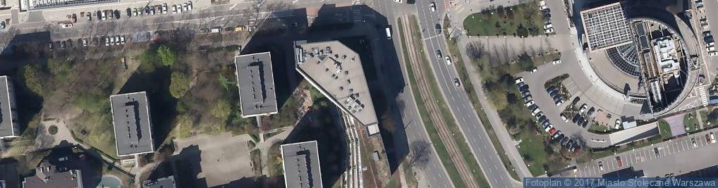 Zdjęcie satelitarne Towarowa 35