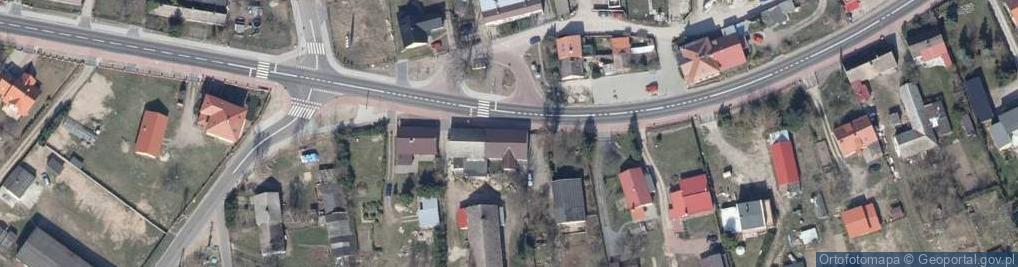 Zdjęcie satelitarne Trzesiecka 45