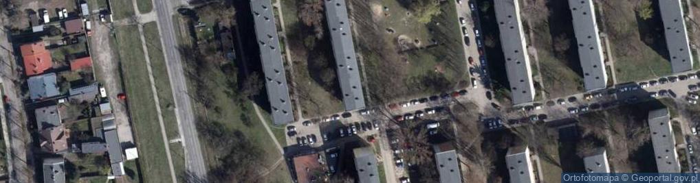 Zdjęcie satelitarne Umińskiego Władysława 7