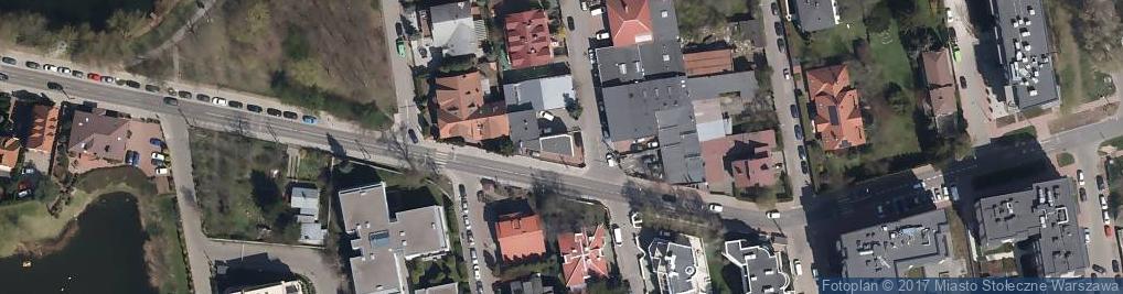 Zdjęcie satelitarne Usypiskowa ul.