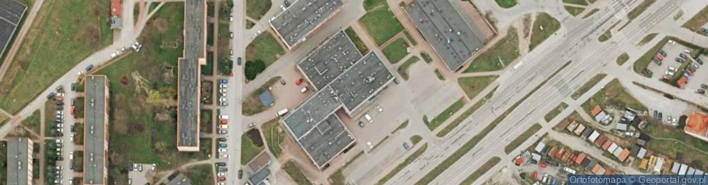 Zdjęcie satelitarne Warszawska 147