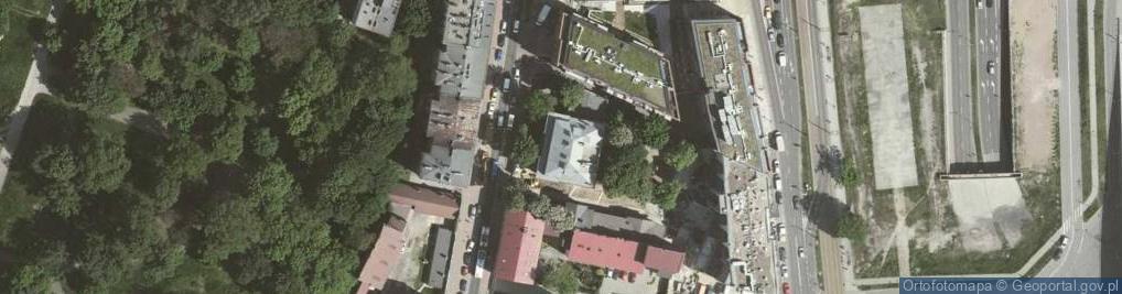 Zdjęcie satelitarne Warszawska 17
