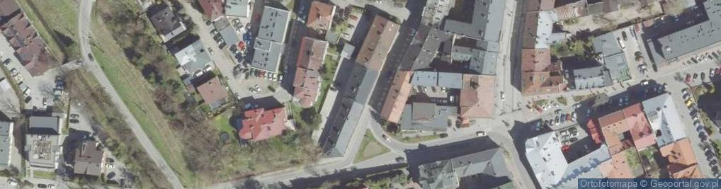 Zdjęcie satelitarne Wąsowiczów 10