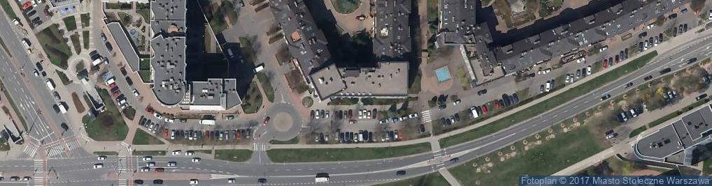 Zdjęcie satelitarne Wąwozowa ul.