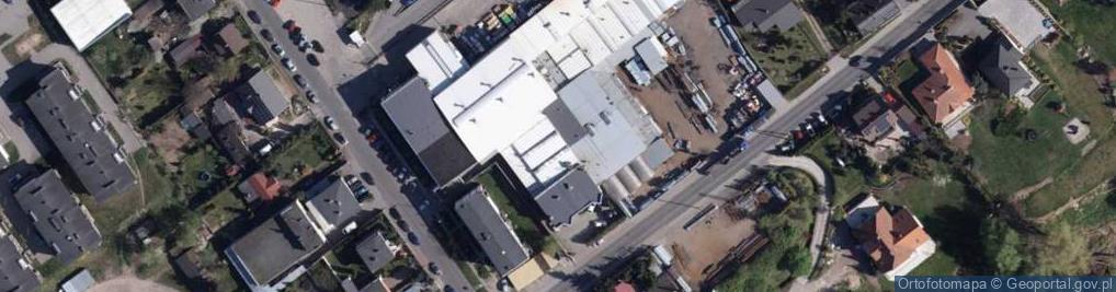 Zdjęcie satelitarne Witebska ul.