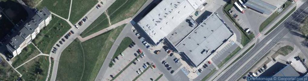 Zdjęcie satelitarne Wieniawskiego Henryka 70A