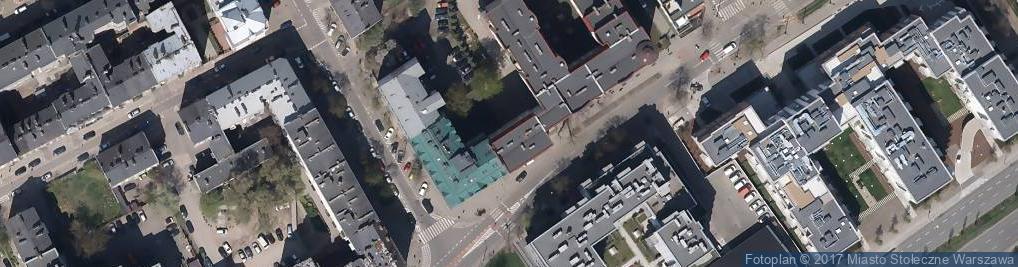 Zdjęcie satelitarne Wileńska 35