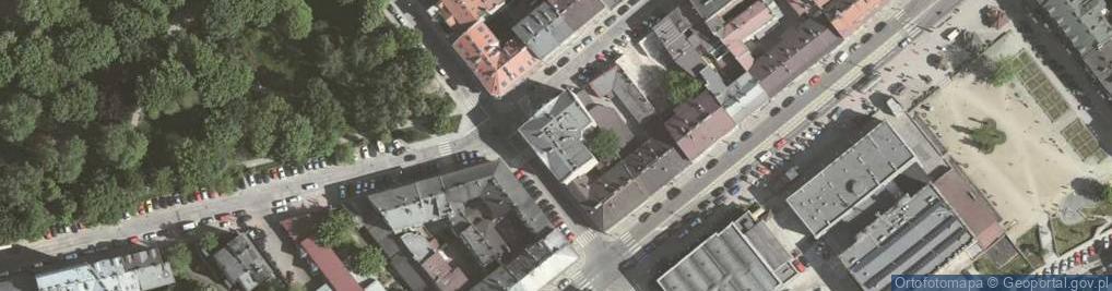 Zdjęcie satelitarne Władysława Warneńczyka ul.