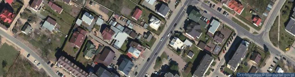 Zdjęcie satelitarne Wojska Polskiego 38